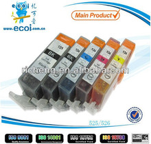 compatible ink cartridge CLI-526 PGI-525 printer ink cartridge factory directly supply