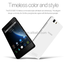 High quality DOOGEE X5 5.0 inch Android 5.1 Smart Phone MT6580 Quad Core 1.3GH mobile phone