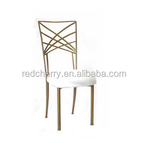 Europe and the United States the new cross back flat iron bamboo chair Metal chair The chameleon chair