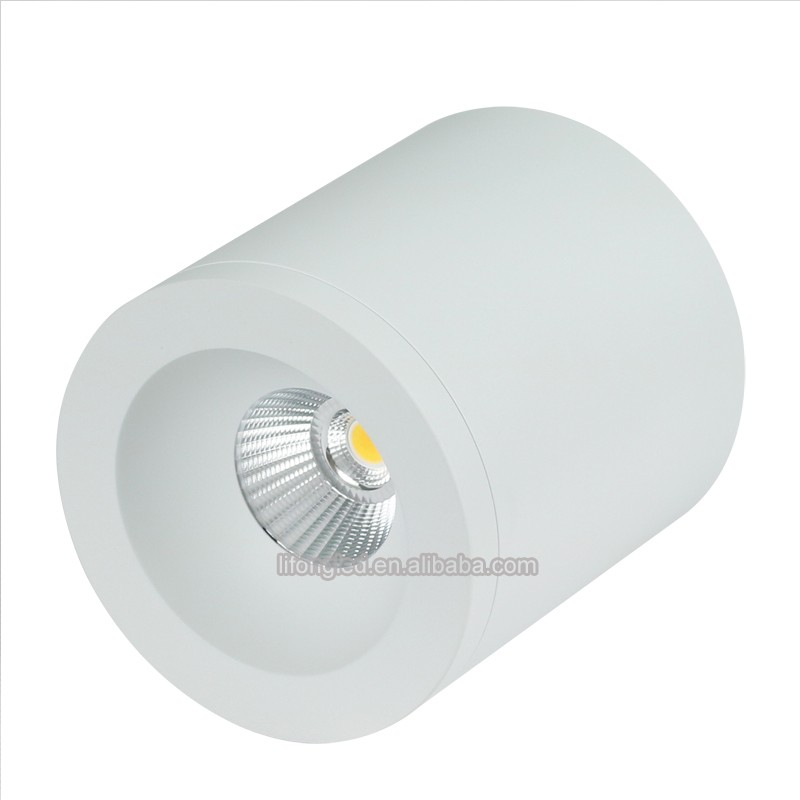 china supplierwaterproof surface mounted Rating 9watt COB LED <strong>downlight</strong>