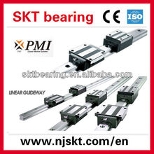 China famous brand PMI,TBI,HIWIN linear guide rails and slider block