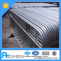 Manufacture of driveway barrier/road guard rails, concert crowd control barrier for sale