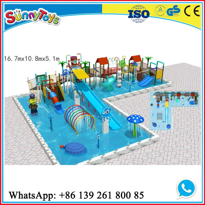 Children s playground combine slide plastic preschool outdoor playground