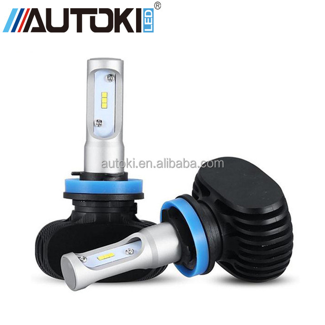 AUTOKI H11 <strong>LED</strong> Car Headlight C-REE CSP Chip 50W 6500K 4000lm <strong>Fog</strong> Light Bulb <strong>Auto</strong> Headlamp for Audi Ford Toyota Honda