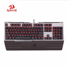2018 Best Sell Gaming Backlight Redragon Ergonomic Keyboard