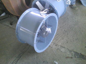 Industrial fans and Blowers, Exhaust fans