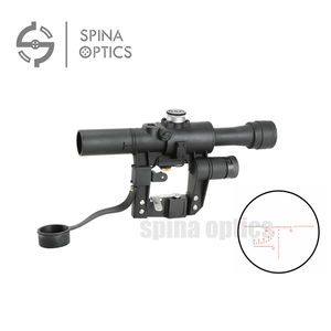 SPINA OPTICS Hunting Military Tactical Airsoft Weapon Thermal Tactical Airsoft Gun SVD 4X26 AK Rifle Scope