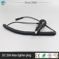 12V Car Cigarette Lighter Led Light Plug with Leads Vehicle Lighter Plug