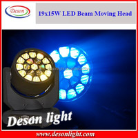 New Style 15Watts 19pcs RGBW Led Effect Lights/Led Beam light