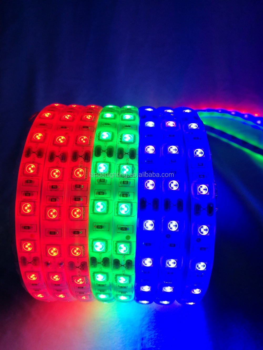 3-Year-Warranty CE RoHS PSE RGB IP2014.4W/M 5050 Led Strip Light dmx rgb led