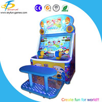 2016 Funny fish game Happy fishing kids coin operated game for child and parent with 42 inchs screen
