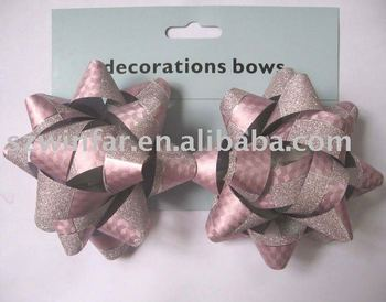 gift wrap ribbon bows