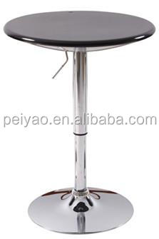 High top bar cocktail tables and stools