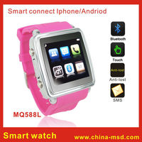 cheap lady wrist watch bluetooth Smart Watch 2014 For Iphone/Android Phones