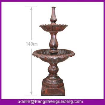 2 Tier Garden Cast Iron Fountains