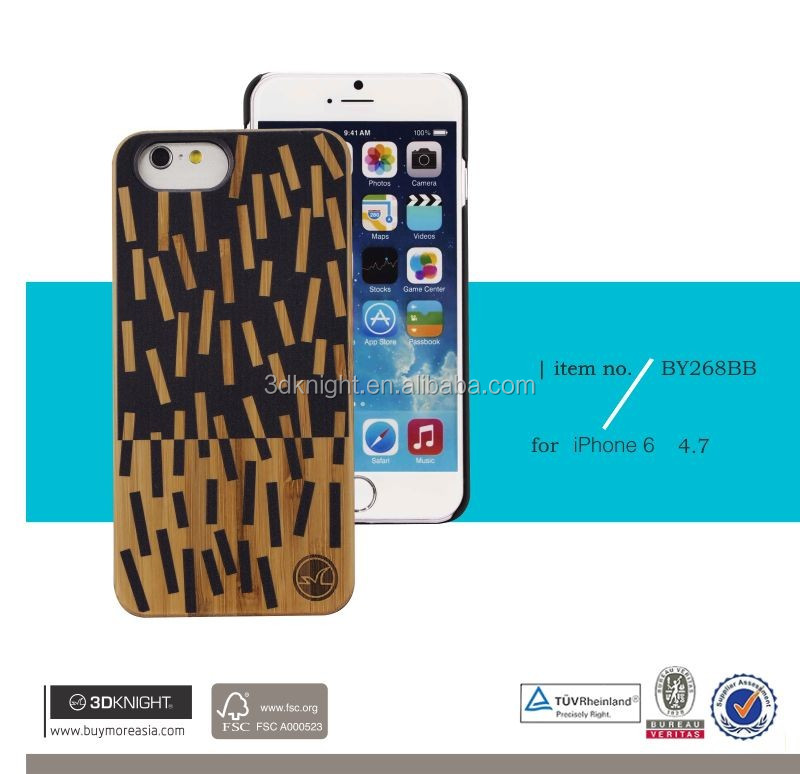 Wood phone case laser engraving cell phone case for iphone