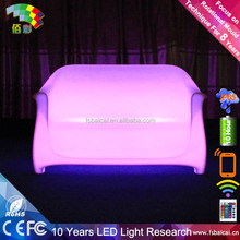 beauty led glowing chair /led furniture lighting/LED light furniture