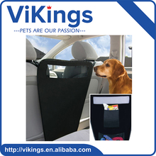 Durable washable Foldable waterproof travel Pet Dog Car Auto Petbetween Front Two Seats Safety Barrier