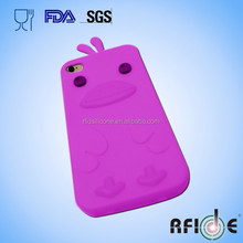 Duck-shaped animal 3d Silicone phone Case for iphone6
