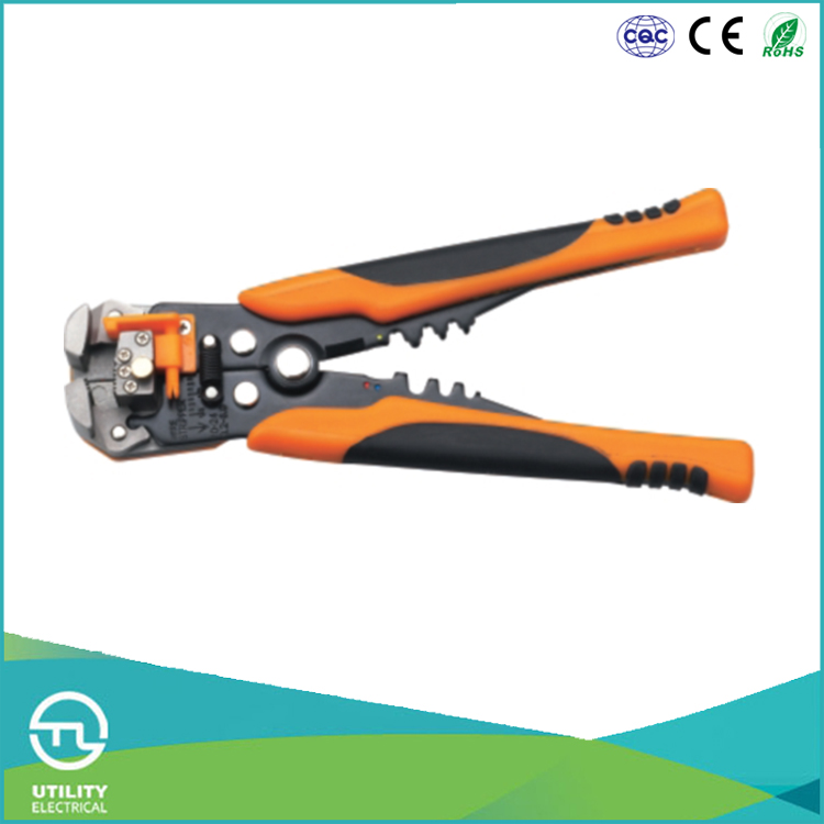 UTL Shopping China Products 0.2-6mm2 Capacity Germany Type Power Wire Stripper Plier Tool