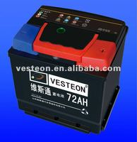 Hot Export High Quality Sealed Maintenance Free Car Batteries MF54017 12V40AH