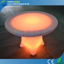 Computer Control New HOT LED Furniture LED Light Round Table Sale