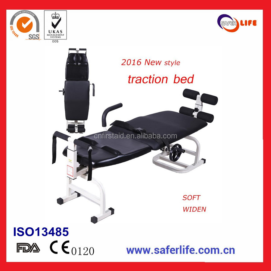 2017 hot sell retail high quality with CE ISO FDA for curing back neck pain for Spine Occupational traction bed