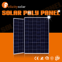Felicity Solar2016 high conversion efficiency 250 W poly solar panel solar module price