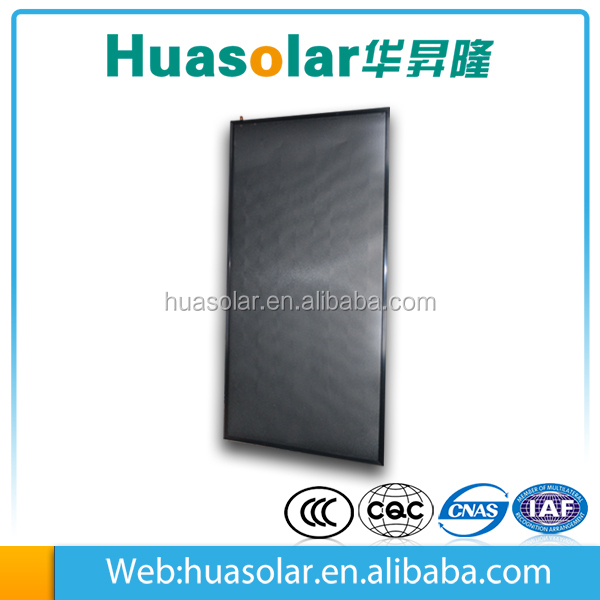 .High-end Flat Plate Solar Collector for wall mounted solar collectors