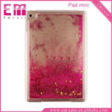 Glitter Quicksand PC Case For iPad Mini Transparent PC Case For iPad Mini