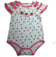 High quality hot selling baby clothes girl in baby romper