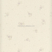 PVC Floral Wallpaper country style wall covering