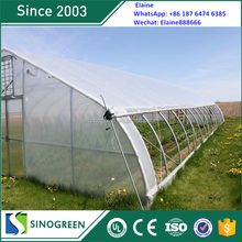 SinoGreen stronger structures high tunnel greenhouse plastic cover