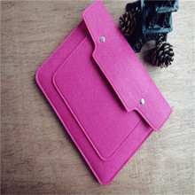 2017 popular eco-friendly 10'' waterproof felt tablet case