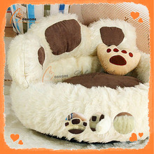 Top Quality paw shape pet bed for dogs