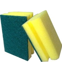 kitchen non-abrasive scouring pad yarn