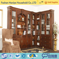 indian living room showcase design wood from small display case factory