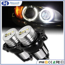 Super Bright E91 E90 C ree LED Angel Eyes upgrade bulbs kit Angel LED Marker for 2006-2008 BMW E90