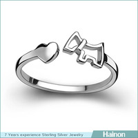 925 sterling silver animal rings horse rings jewelry