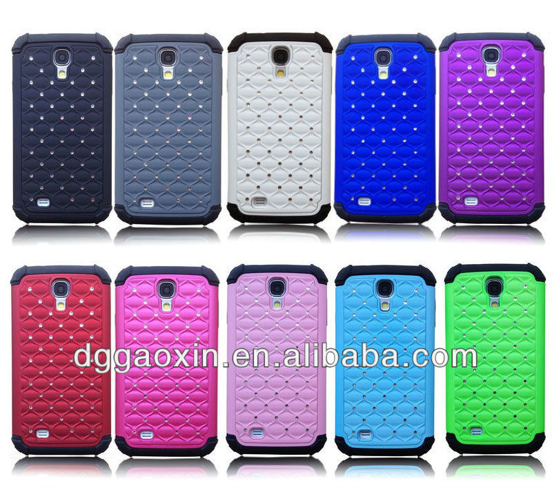2013 Fashion New Crystal Silicon Phone Cases for Samsung Galaxy S4 i9500
