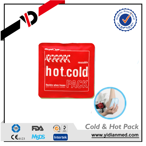 Hot selling very useful reduce fever patch microwave hot cold compress