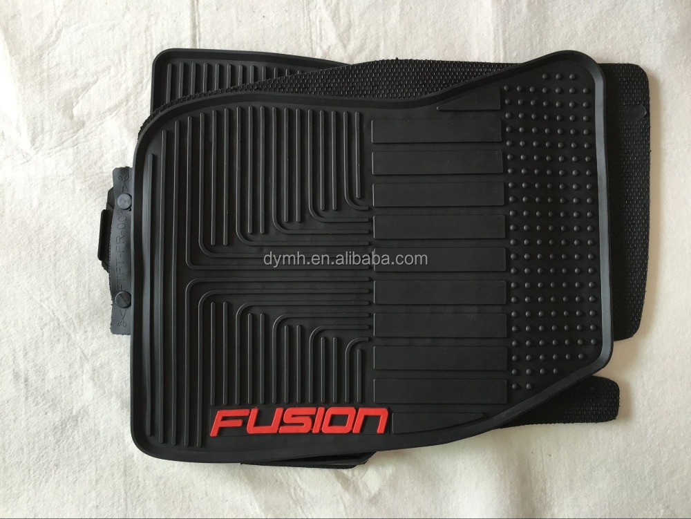 2016 New Car Floor Mats Front & Rear Auto Waterproof Mat For FUSION