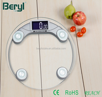 High quality household electronic body wighing scale BY835