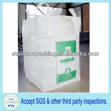 virgin material fibc plastic tons bag for packing cement