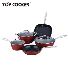 Aluminum nonstick cookware set