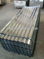 ASTM hot dip corrugated metal roof