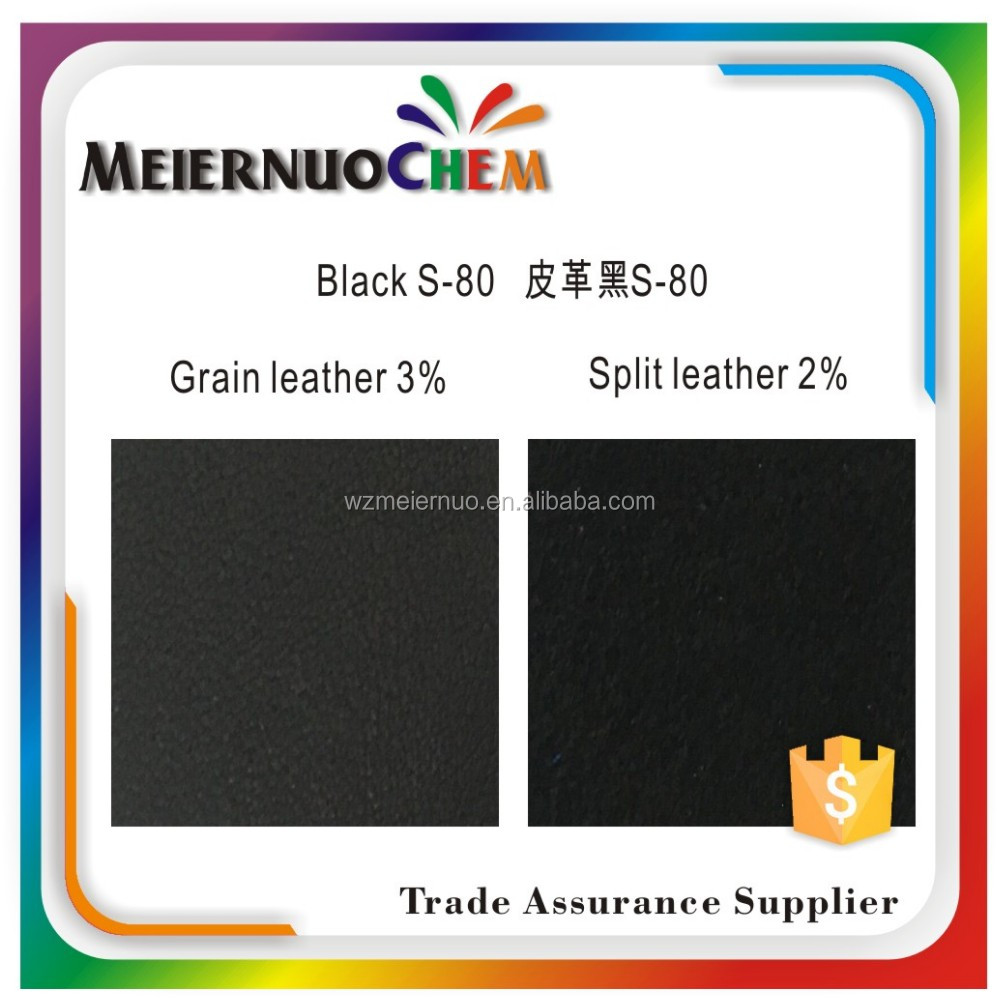 SGS MSDS Black S-80 acid dyes for leather Agent wanted