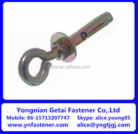 Concrete Eye Bolt Wedge Anchor Zinc Plated