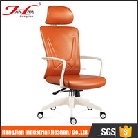 PVC on the back side ergonomic executive office chair