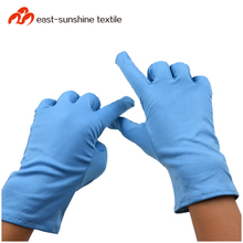Wholesale 100% polyester microfiber cleaning gloves